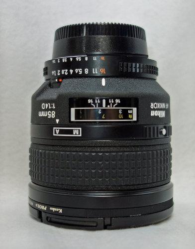 Nikkor 85mm f/1.4D