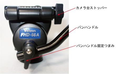 FHD-66A各部名称